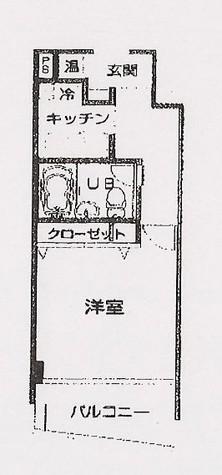 HF三田レジデンス(旧シングルレジデンス三田) / 602 部屋画像1