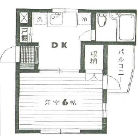 オラマキシム2  (奥沢7) / 103 部屋画像1