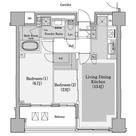 コンフォリア赤坂 / 603 部屋画像1