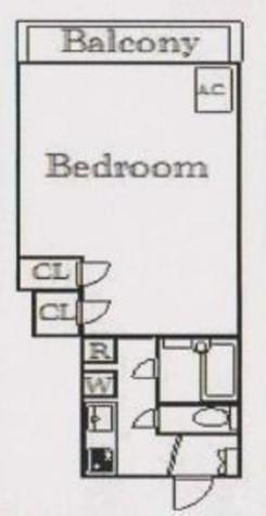 能越マンション / 3階 部屋画像1