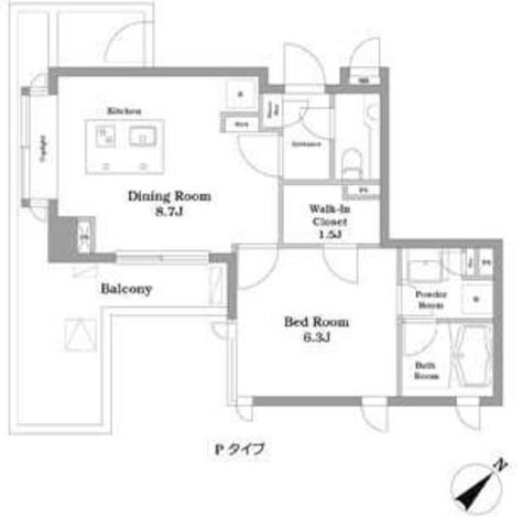 他号室の部屋