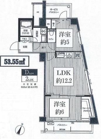 目黒テラス / 4階 部屋画像1