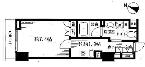 Feel A 渋谷(フィールエー渋谷) / 5階 部屋画像1