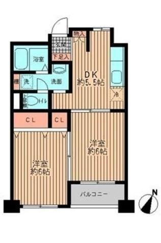 プライムアーバン勝どき(旧アーバンステージ勝どき) / 4階 部屋画像1