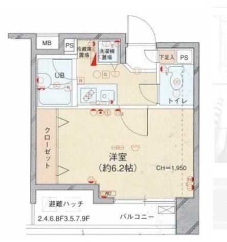 菱和パレス渋谷西壱番館 / 9階 部屋画像1