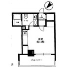 レジディア月島Ⅱ / 201 部屋画像1
