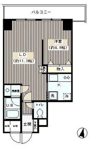 グリーン初波奈 / 206 部屋画像1