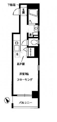お茶ノ水リバーサイド / 9階 部屋画像1