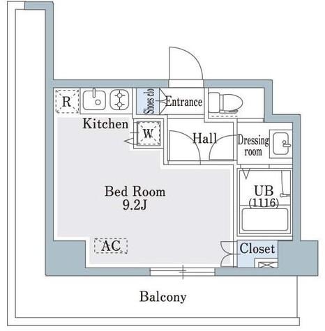 SHOWN HATSUDAI / 3階 部屋画像1