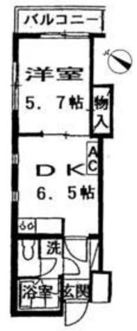 目黒ガーデン / 2階 部屋画像1