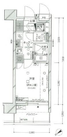 パレステュディオ芝浦City / 10階 部屋画像1