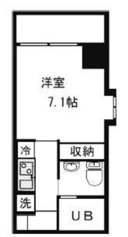 KDXレジデンス御徒町(旧ヒューマンハイム御徒町) / 9階 部屋画像1