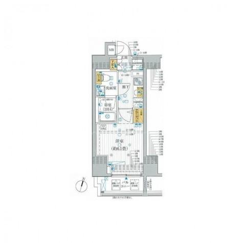 プレールドゥーク笹塚Ⅱ / 14階 部屋画像1