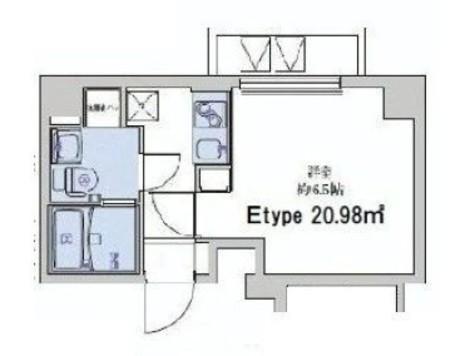ライジングプレイス大森二番館 / 5階 部屋画像1