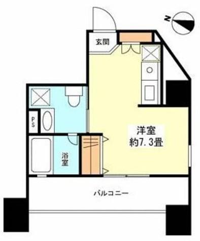ロネスタR文京護国寺 / 7階 部屋画像1