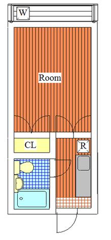 グリーンハイツ / 1階 部屋画像1