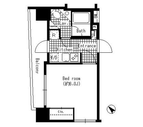 HF銀座レジデンス / 8階 部屋画像1