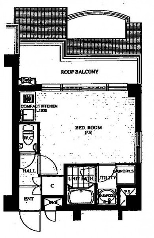 シティーコート飯沼 / 5階 部屋画像1