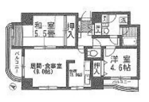 センテニアルタワー / 604 部屋画像1