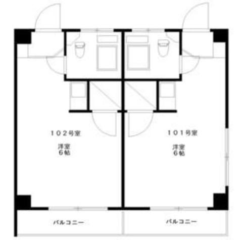 第一西尾ビル / 1階 部屋画像1