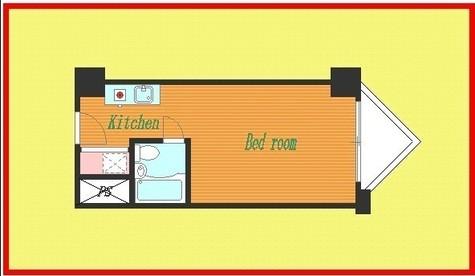 アドス御苑マンション / 1階 部屋画像1