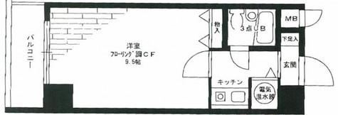 ライオンズマンション日本橋 / 9階 部屋画像1
