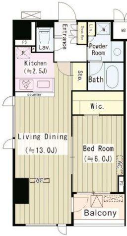パークサイド湯島台 / 2階 部屋画像1