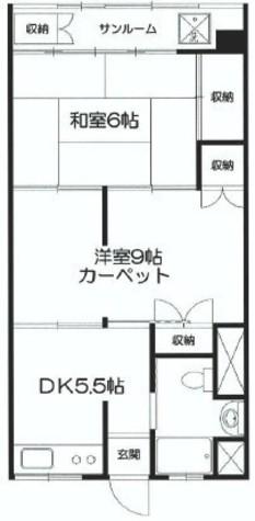 原宿第三宮廷マンション / 1階 部屋画像1