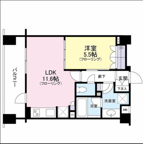 クレアホームズ新宿百人町 / 604 部屋画像1