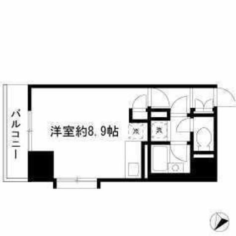 ダイヤモンドレジデンス勝どき / 703 部屋画像1