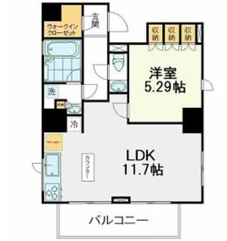Art de Vivre Shirokanedai(アールド・ヴィーヴル白金台) / 9階 部屋画像1