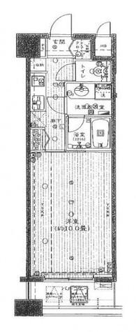 アヴァンティーク銀座2丁目 / 10階 部屋画像1