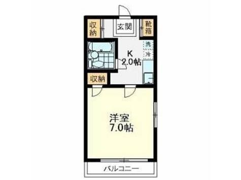 ハオスルーケ / 2階 部屋画像1