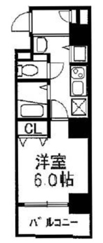 コンフォール門前仲町 / 8階 部屋画像1