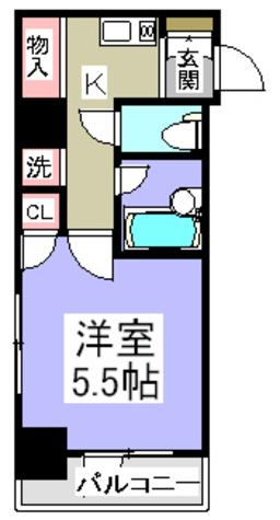 レジディア文京湯島Ⅱ / 301 部屋画像1