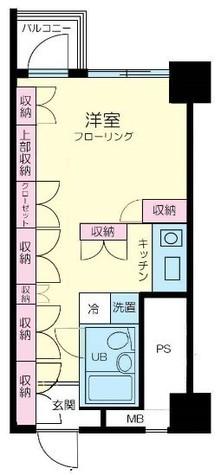渋谷ホームズ / 10階 部屋画像1