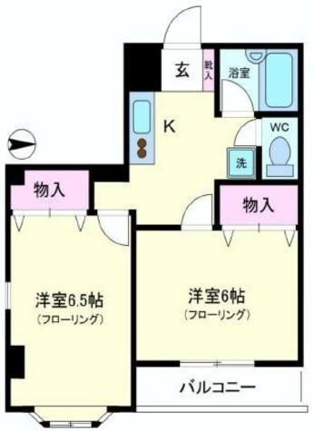 YMO弦巻 / 2階 部屋画像1