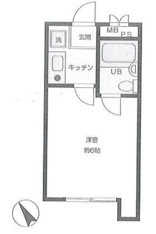 菅田ビル / 302 部屋画像1