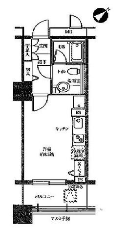 ドゥーエ横浜駅前(旧ステイシス横浜) / 707 部屋画像1