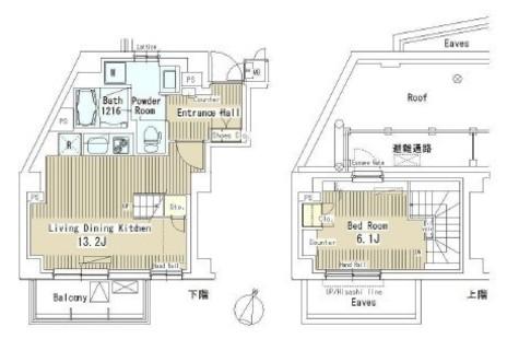 マスターズコート北品川 / 3階 部屋画像1