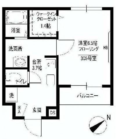 adagio(アダージォ) / 305 部屋画像1