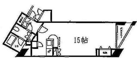 ドゥーエ学芸大学(旧TKフラッツ学芸大学) / 8階 部屋画像1