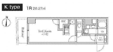 レジディア南品川 / 3階 部屋画像1