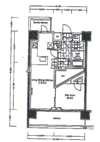パークハビオ恵比寿 / 7階 部屋画像1