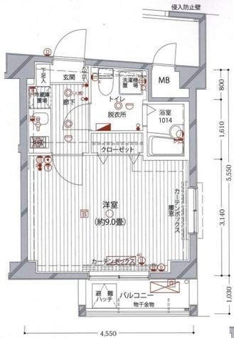 シンシティ上北沢ジーベック / 8階 部屋画像1