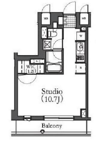 ルフォンプログレ学芸大学(旧名:アパートメンツ学芸大学) / 3階 部屋画像1