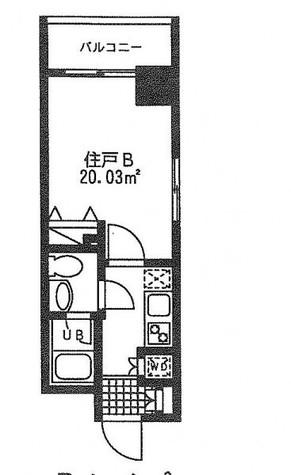 レジディア日本橋人形町Ⅱ(旧アルティス人形町) / 2階 部屋画像1