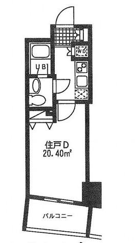 レジディア日本橋人形町Ⅱ(旧アルティス人形町) / 14階 部屋画像1