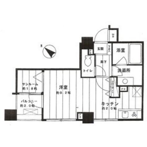 ベルス大崎百反坂 / 1階 部屋画像1