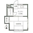かえで荘 / 2階 部屋画像1
